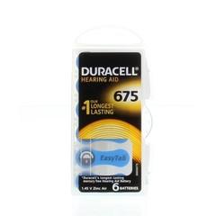 Duracell Hearing aid batterij 675 (6 stuks)