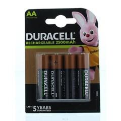 Duracell Rechargeable AA (4 stuks)
