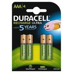 Duracell Rechargeable AAA (4 stuks)