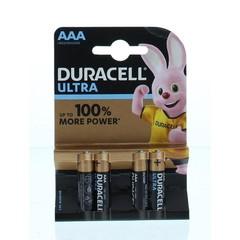 Duracell Ultra power AAA (4 stuks)