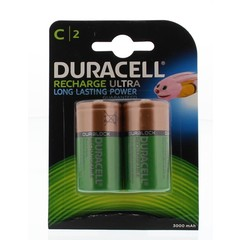 Duracell Rechargeable C HR14 (2 stuks)