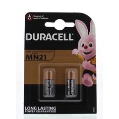 Duracell Long lasting power MN21 (2 stuks)
