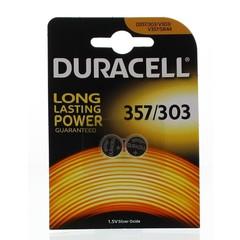 Duracell Knoopcel 357/303 uurwerk (2 stuks)