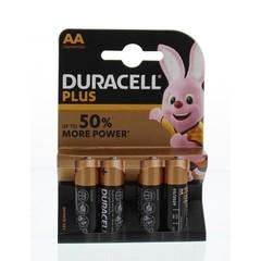 Duracell Plus power AA (4 stuks)