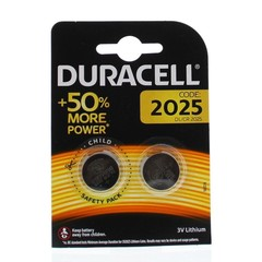Duracell Batterij 2025 (2 stuks)