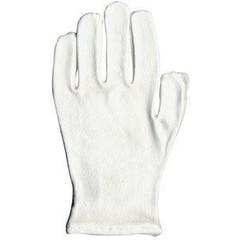Mattisson Vochtig houdende handschoenen wit (1 paar)