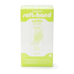 Softhand Onderzoekshandschoen softhand latex gepoederd M (100 stuks)