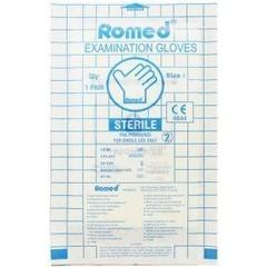 Romed Latex handschoen steriel S (1 paar)