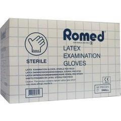 Romed Latex handschoen steriel S (50 stuks)