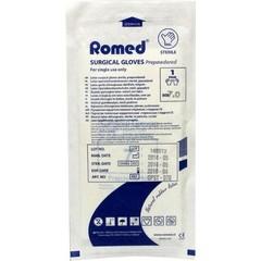 Romed Operatiehandschoen steriel gepoederd 7 (1 paar)