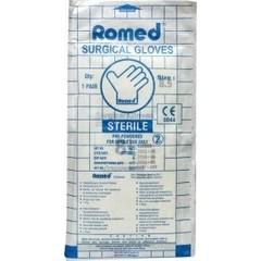 Romed Operatiehandschoen steriel gepoederd 8.5 (1 paar)