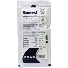 Romed Operatiehandschoen steriel gepoederd 9 (1 paar)