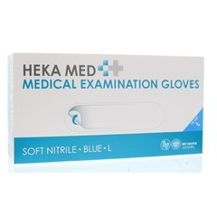 Heka Medical gloves soft nitrile L (100 stuks)