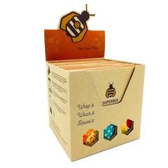 Superbee Beeswraps tripple large retailbox (20 stuks)