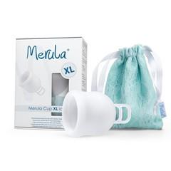 Merula Menstruatiecup XL ice kleurloos (1 stuks)