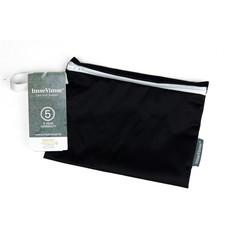 Imsevimse Wet bag reiszakje zwart wasbaar (1 stuks)