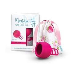Merula Menstruatiecup strawberry roze (1 stuks)