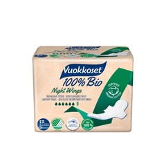 Vuokkoset Maandverband night wing (9 stuks)