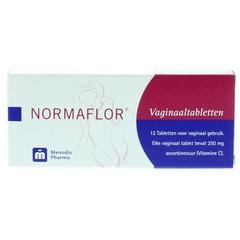 Normaflor Vaginale tabletten (12 stuks)