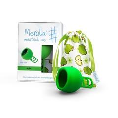 Merula Menstruatiecup apple groen (1 stuks)