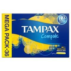 Tampax Tampons compak regular (36 stuks)