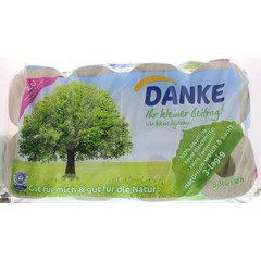 Danke Tissue toiletpapier 3-laags (8 rollen)