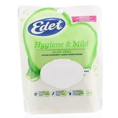 Edet Vochtig toiletpapier gentle aloe (40 stuks)