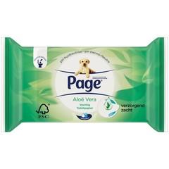 Page Vochtig toiletpaper aloe vera navulling (38 stuks)