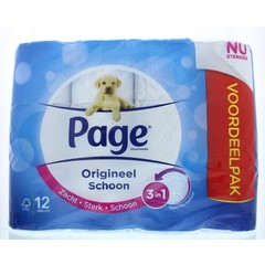 Page Toiletpapier original (12 rollen)