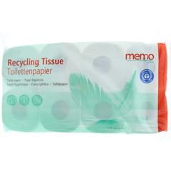 Memo Toiletpapier 2-laags (8 stuks)