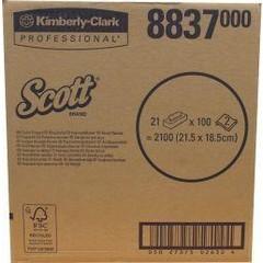 Kimberly Clark Tissues 21 x 100 stuks (2100 stuks)