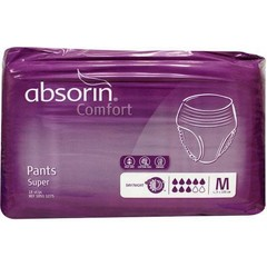 Absorin Comfort pants super Medium tot 105 cm (18 stuks)