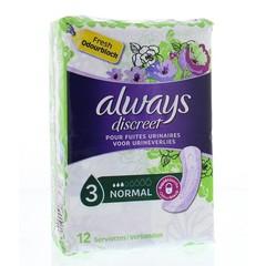 Always Discreet normal (12 stuks)