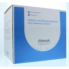 Attends Care dry cleansing wipes (150 stuks)