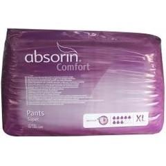Absorin Comfort pants super XL tot 165 cm (12 stuks)