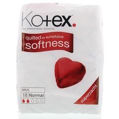Kotex Maxi normal (18 stuks)