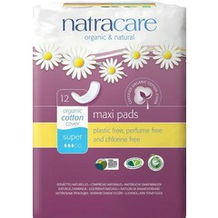 Natracare Maandverband super (12 stuks)