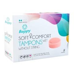 Beppy Soft+ comfort tampons wet (8 stuks)
