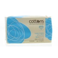 Cottons Inlegkruisje extra lang (32 stuks)