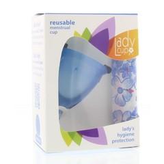 Ladycup Menstruatie cup blue maat S (1 stuks)