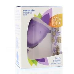 Ladycup Menstruatie cup lilac maat S (1 stuks)