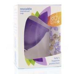 Ladycup Menstruatie cup lilac maat L (1 stuks)