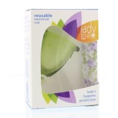Ladycup Menstruatie cup green maat S (1 stuks)