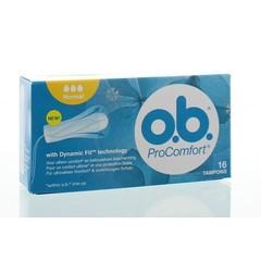 OB Tampons pro comfort normaal (16 stuks)