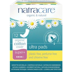 Natracare Maandverband super plus (12 stuks)