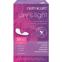 Natracare Dry & light Maandverband (20 stuks)