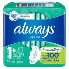 Always Normal plus single pak (14 stuks)