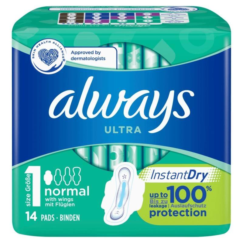 Always Always Normal plus single pak (14 stuks)