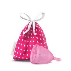 Ladycup Menstruatie cup pink maat L 46 mm (1 stuks)
