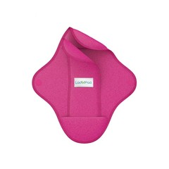 Ladypad Wasbaar maandverband pad & liner fuchsia maat M (1 set)